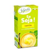 POSTRE DE SOJA CON VAINILLA BIO - Sojade - Sin lactosa