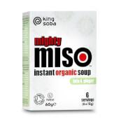 Sopa de Miso con Tofu y Jengibre Sin Gluten Bio - King Soba