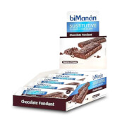 Barritas Sustitutivas de Chocolate Fondant sustituyen una o varias comidas.