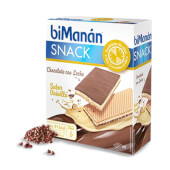 El Snack Chocolate con Leche y Vainilla es rico en fibra.