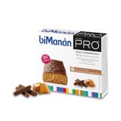 Barritas Chocolate Caramelo de Bimañán Pro te ayudan a controlar el peso.