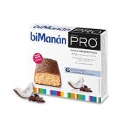 Barritas Chocolate Coco de BiManán Pro te ayudan a controlar el peso.