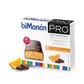 Barritas Chocolate Naranja de BiManán Pro te ayudan a controlar el peso.