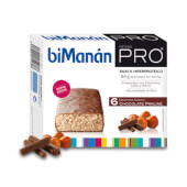 Barritas Chocolate Praliné de BiManán Pro te ayudan a controlar el peso.