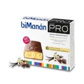 Barritas Chocolate Vainilla de BiManán Pro te ayudan a controlar el peso.