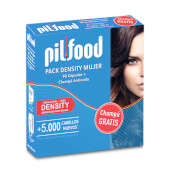 Pilfood Pack Density Mujer + Champú gratis - Tratamiento anticaída