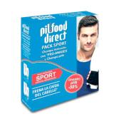 PILFOOD DIRECT PACK SPORT ANTICAÍDA - Incluye 2 champús