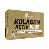 Kolagen Activ Plus de Olimp contribuye a la formación normal de colágeno.