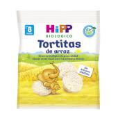 HIPP Tortitas de Arroz BIO - Para bebés y niños