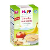 HIPP  Papilla Cereales con Frutas Bio 600g - 6 Meses