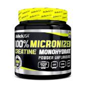 100% CREATINA MONOHIDRATO MICRONIZADA - Biotech USA