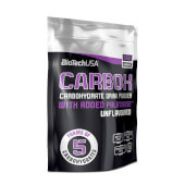 CARBOX - BIOTECH USA - 5 tipos de carbohidratos