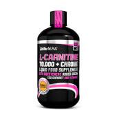 L-CARNITINA 70.000 + CROMO - BioTech USA - Formato líquido