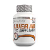 Liver Aid está formulada por ingredientes que favorecen el funcionamiento hepático.
