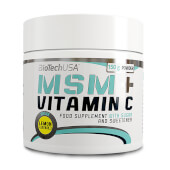 MSM + VITAMINA C - BioTech USA - Combate el estrés oxidativo