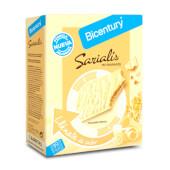 Sarialis Barritas de Cereales y Chocolate Blanco de Bicentury es fuente de fibra.