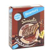 Date un capricho de 99 kcal con Sarialis Barritas de Cereales y Chocolate Negro.