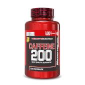 Cafeína 200 (Termotec Series) de Nutrytec favorece la pérdida de peso.