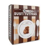 Obegrass Barritas Sustitutivas Chocolate y Galleta - Fuente de fibra