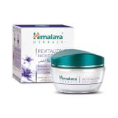 Crema de Noche Revitalizante - Himalaya Herbals - Hipoalergénica