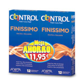 Control Finissimo son preservativos de mayor sensibilidad.