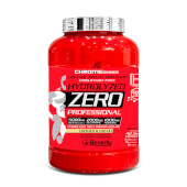 Hydrolyzed Zero Professional no contiene grasas ni azúcares.