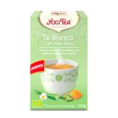 Té Blanco con Aloe Vera - YOGI TEA - Equilibrante y armónica