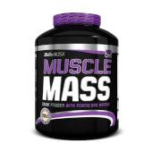 MUSCLE MASS - BioTech USA - ¡Fórmula aumentadora de peso!