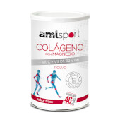 Colágeno con Magnesio + Vit C, B1, B2 y B6 - Amlsport - En polvo
