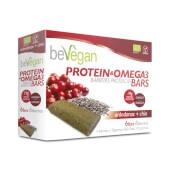 Barritas Proteicas y Antioxidantes de Arándanos + Chía - BeVegan