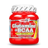GLUTAMINA + BCAA - Amix - ¡Favorece la ganancia muscular!