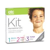 OTC Antipiojos Kit 1 2 3 Permetrina 1,5% - Elimina, retira y protege