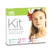 OTC Antipiojos Kit 1 2 3 Sin Insecticida - Elimina, retira y protege