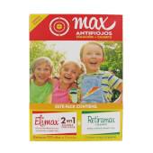 Max Antipiojos Solución + Champú - Elimax - Tratamiento 2 en 1