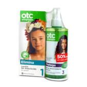 OTC Antipiojos Loción sin Insecticida + Spray Desenredante Protect