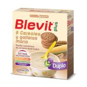 Blevit Plus Duplo 8 Cereales y Galletas María - ¡Fácil digestión!