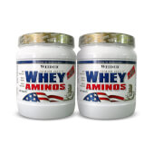Whey Aminos 2x1 - Weider - ¡Protege tu musculatura!