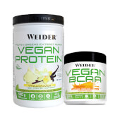 Vegan Protein + Vegan BCAA - Weider - ¡Pack vegano completo!