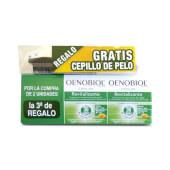 Oenobiol Capilar Fortificante 3ª Ud + Cepillo Gratis - Cabello y Uñas