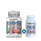 L-Carnitina Cápsulas 100 + 45 Caps - Weider - ¡Oferta especial!