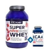 Super Nitro Whey 2,2 Kg + BCAA 2:1:1 - Victory - Oferta Especial
