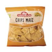 Chips de Maíz Bio 75g - Natursoy - ¡Perfectos para dippear!