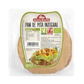 Pan de Pita Integral Bio 280g - Natursoy - Apto para Veganos