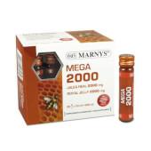 Mega 2000 Jalea Real 20 Viales - Marnys - ¡Con Vitamina C!
