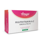 Multivitamin A-Z Green and Fruits -  Amazin' Foods - Multivitamínico