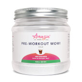 Pre-Workout Wow! 400g - Amazin' Foods - ¡Eficacia y rendimiento!