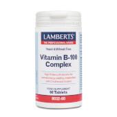 VITAMIN B-100 COMPLEX 60 Tabs - LAMBERTS