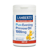 PURE EVENING PRIMROSE OIL 1000mg 90 Caps - LAMBERTS