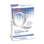 CO-ENZYME Q10 100mg 60 Caps - LAMBERTS