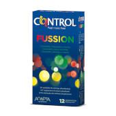 Control fusion preservativos para una experiencia sensorial.